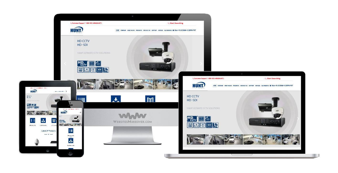 cctv website design