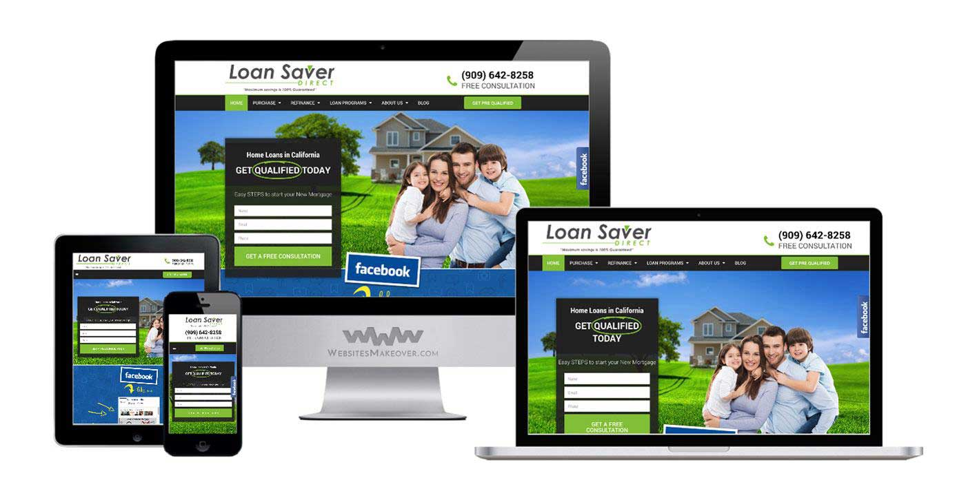mortgage web design