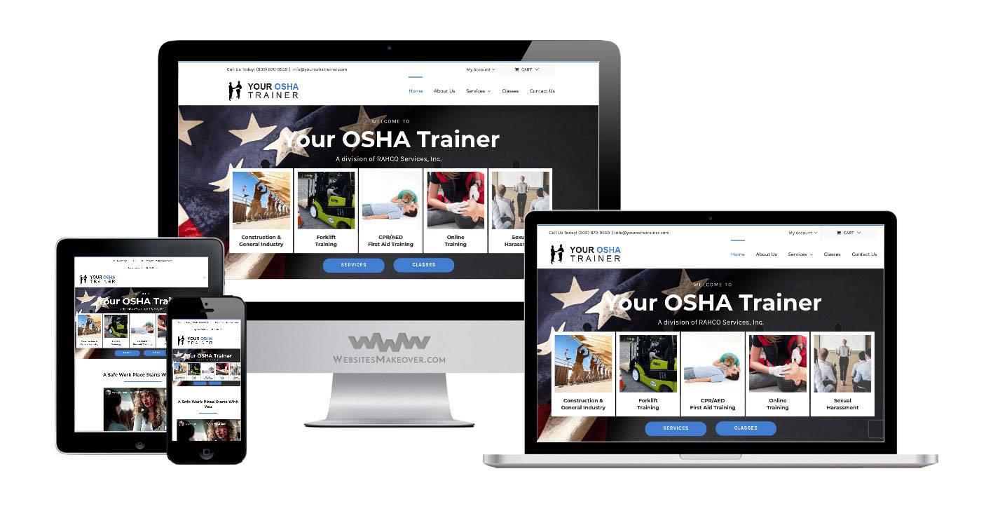 osha website design