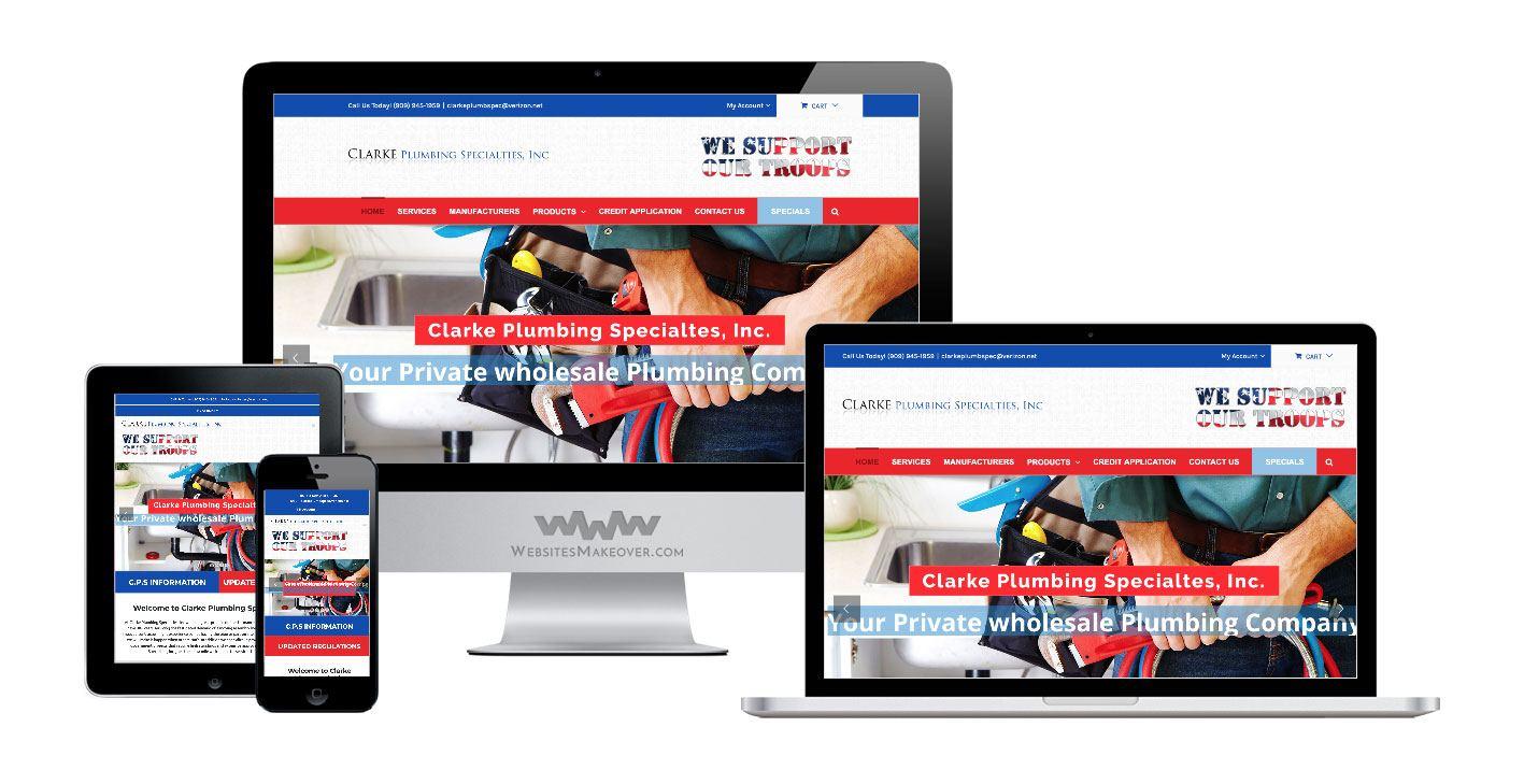 plumbing web design cps