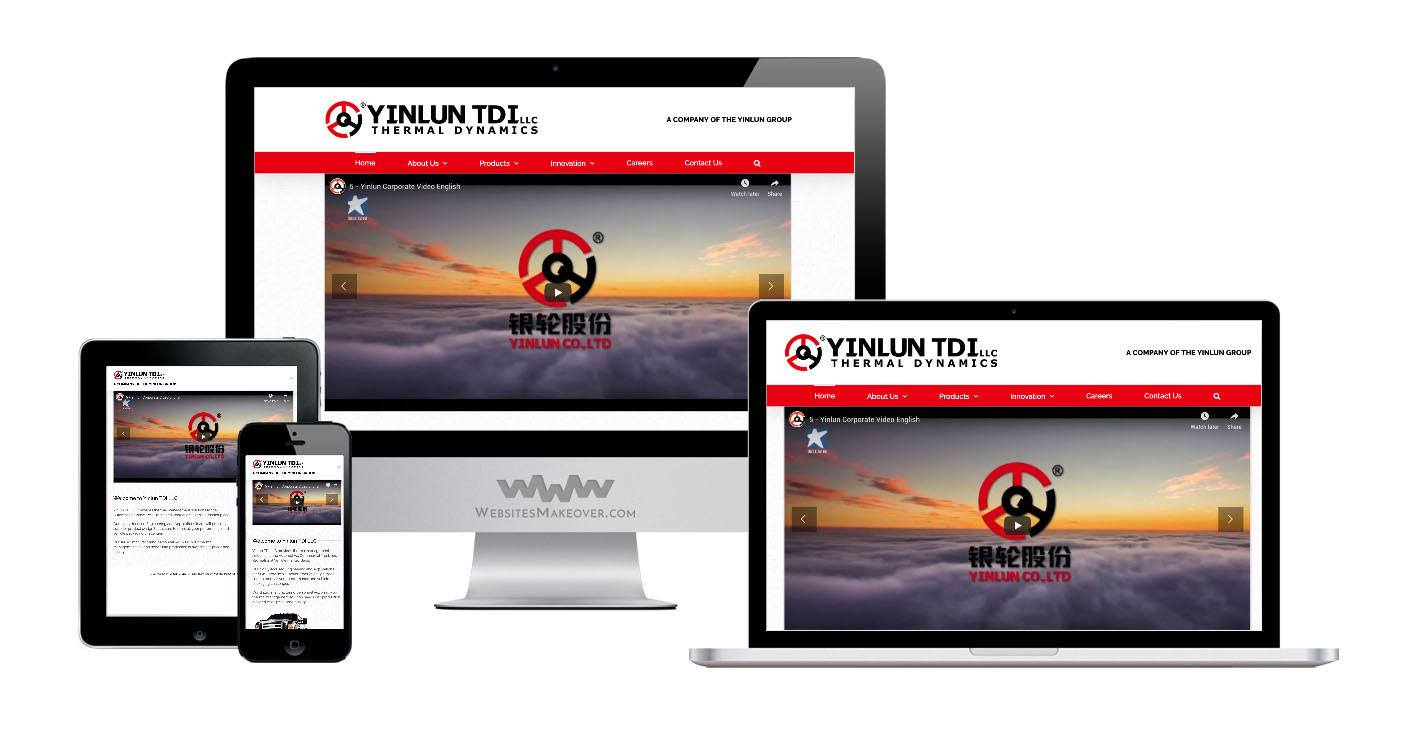 thermal website design